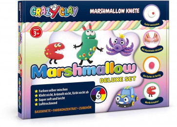 Crazy Clay Marshmallow Knete Deluxe Set