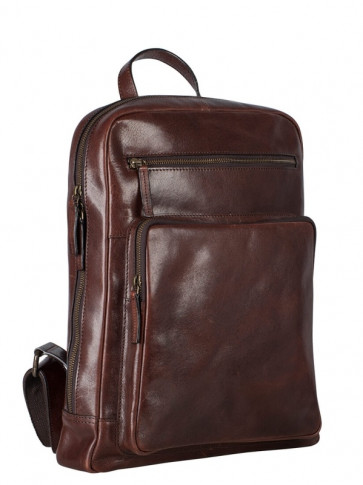 Leonhard Heyden Cambridge Businessrucksack Rotbraun 5269
