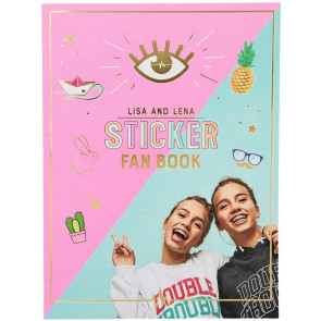J1MO71 Sticker-Fan-Book 10372 || J1MO71 - Lisa & Lena Stickerbuch