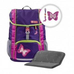 "Step by Step KID Schulranzen-Set ""Shiny Butterfly"" 3-teilig"